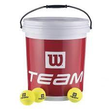 Mingi tenis de camp pentru antrenament, 72bucati, Trainer, Wilson