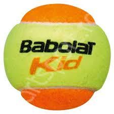 Minge tenis copii nivel portocaliu - Babolat Kid (3 buc)