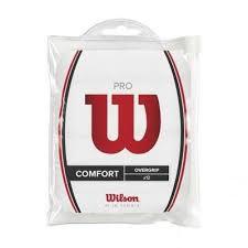 Overgrip racheta tenis de camp Pro Comfort, 12 bucati, alb, Wilson