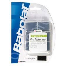 Overgrip racheta Babolat Pro Team Tacky (3buc) - negru