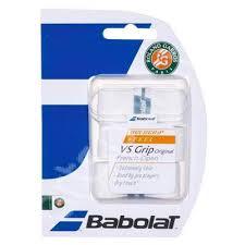 Overgrip racheta VS Grip Roland Garros (3buc) - alb