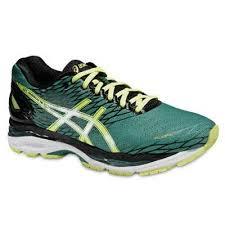 Pantofi alergare sosea barbati, Gel Nimbus 18, verde, Asics