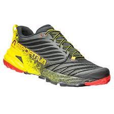 Pantofi alergare trail Akasha, galben-negru, La Sportiva
