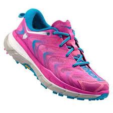 Pantofi alergare trail, femei, fuchsia-blue, Speedgoat, Hoka One One