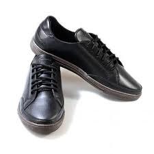 Pantofi casual barbati, piele naturala, maro-negru, Ignorant