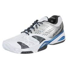 Pantofi sport barbati Babolat SFX All Court - alb/albastru