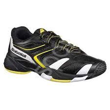 Pantofi tenis copii Babolat Drive 3 Jr - negru/galben