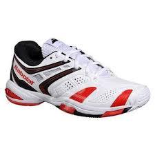 Pantofi tenis copii Babolat Propulse 4 Jr - alb/rosu