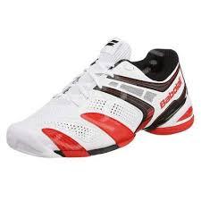 Pantofi sport barbati Babolat V-Pro 2 All Court - alb/rosu