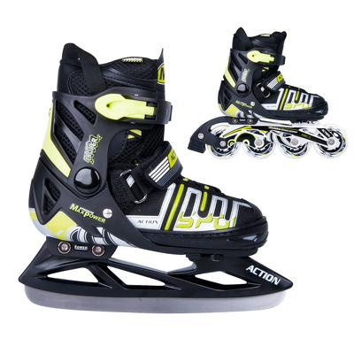 Patine reglabile Action Olaff 2in1, marime L, 39-42