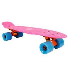 Penny board Retro Mini Cruiser, roz, Insportline