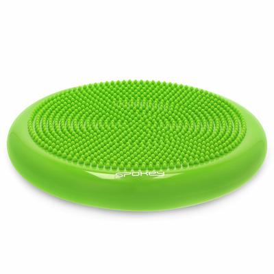 Perna masaj si echilibru gonflabila, verde, Fit Seat