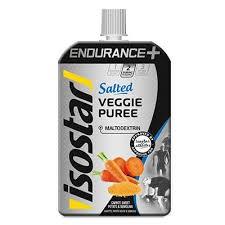 Piure energetic sarat pentru sportivi, Veggie Puree Endurance+, 90g, Isostar