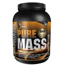 Power Mass Gold Nutrition, aroma ciocolata, 1.5kg