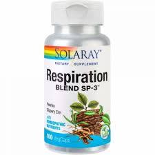 Respiration Blend, 100 capsule, Solaray