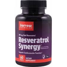 Resveratrol Synergy, 200 mg, 60 capsule, Jarrow Formulas