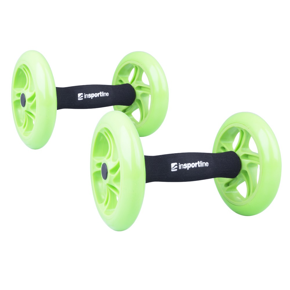 Roata exercitii Ab Roller Double, Insportline