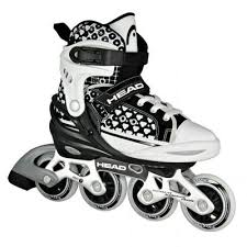 Role junior inline, reglabile, negru, HJ 9 NEW, Head