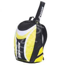 Rucsac tenis cu suport racheta Babolat Club - galben