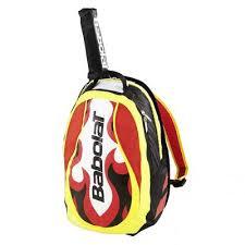 Rucsac tenis cu suport racheta Club, galben-rosu, Babolat