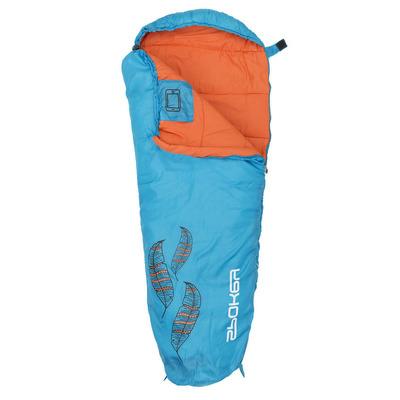 Sac de dormit pentru copii, 160x65cm, albastru-portocaliu, Spokey