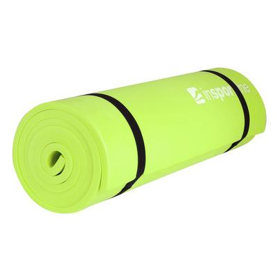 Saltea aerobic din spuma EVA, verde, 180x50x1cm, Insportline