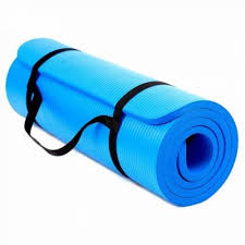 Saltea exercitii fitness, 180x60x1.5cm, albastru