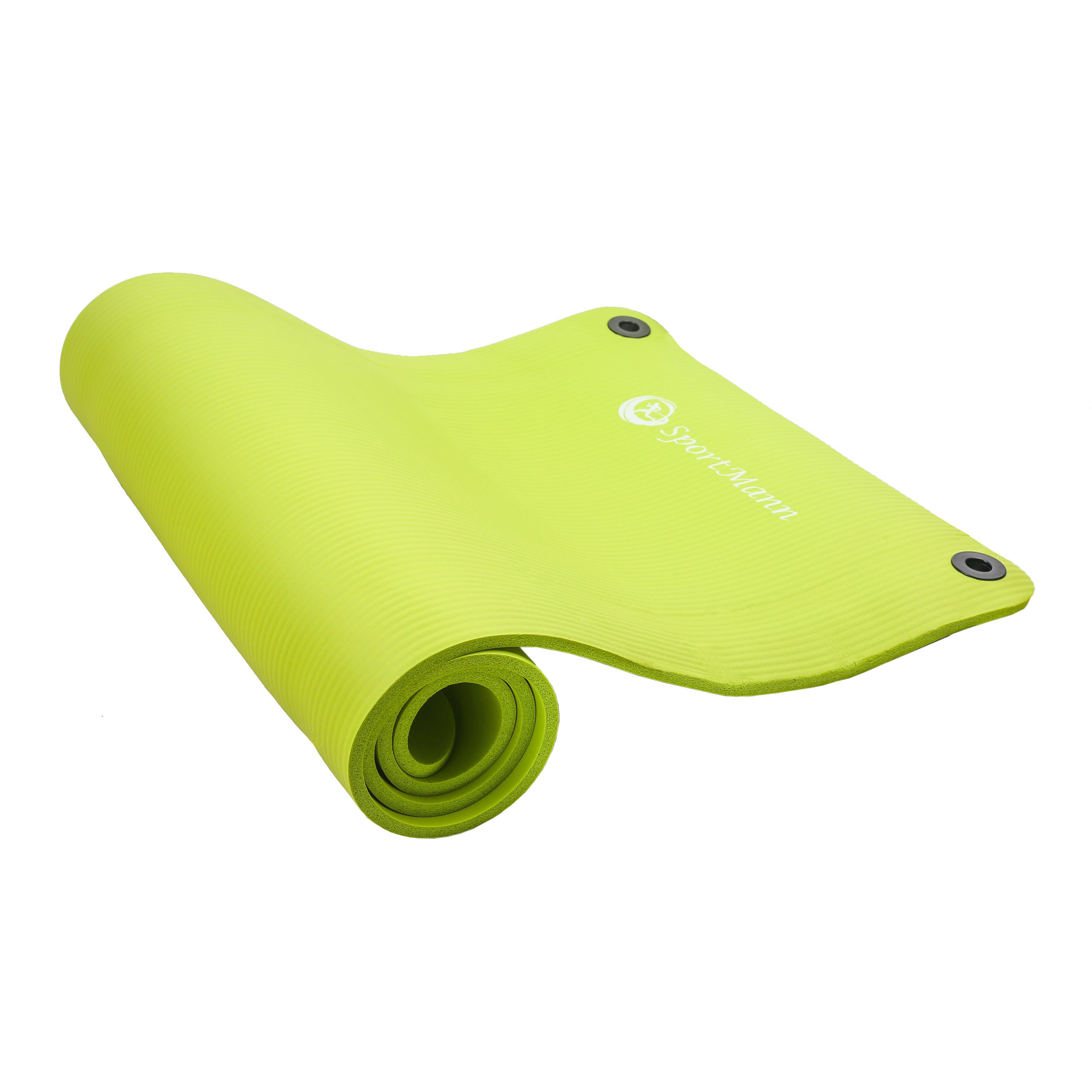 Saltea exercitii fitness si aerobic Profi, 180x60x1cm, verde