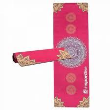 Saltea exercitii yoga, 183x61x0.4cm, Sunshine, rosu