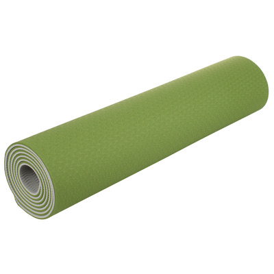 Saltea pentru yoga TPE II, 183x61cm, verde