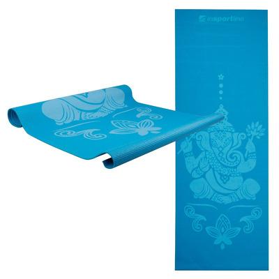 Saltea yoga 172 x 61 x 3mm, Spirit, albastru