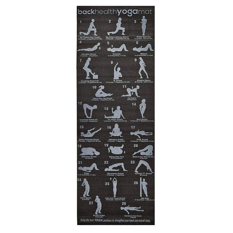 Saltea yoga, 173x61x0.6 cm, Yogi Plan