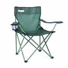 Scaun camping pliabil cu suport pahar, verde, Spokey