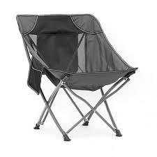 Scaun camping sau pescuit, pliabil, negru, Fenix