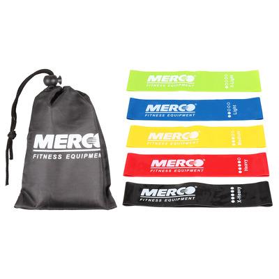 Set 3 benzi elastice circulare pentru antrenament fitness, 50x5cm