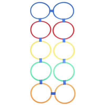 Set cercuri agilitate pentru antrenament, accesorii