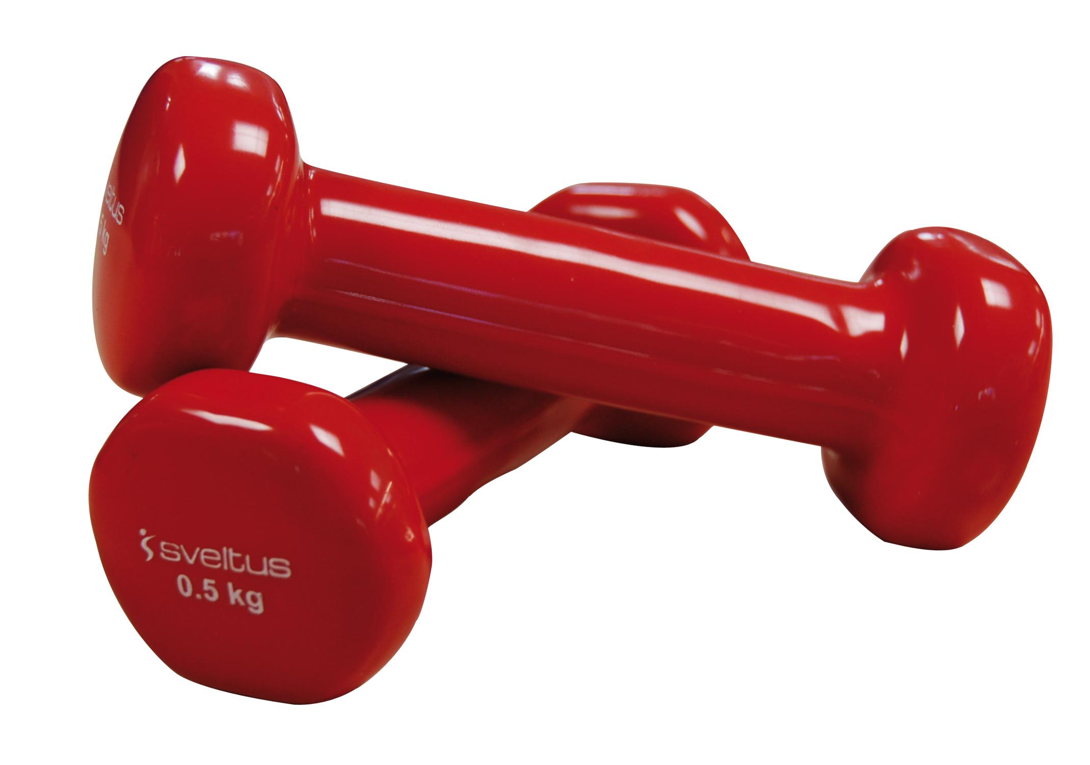 Set gantere aerobic, 2x0.5 kg, Epoxy, Sveltus