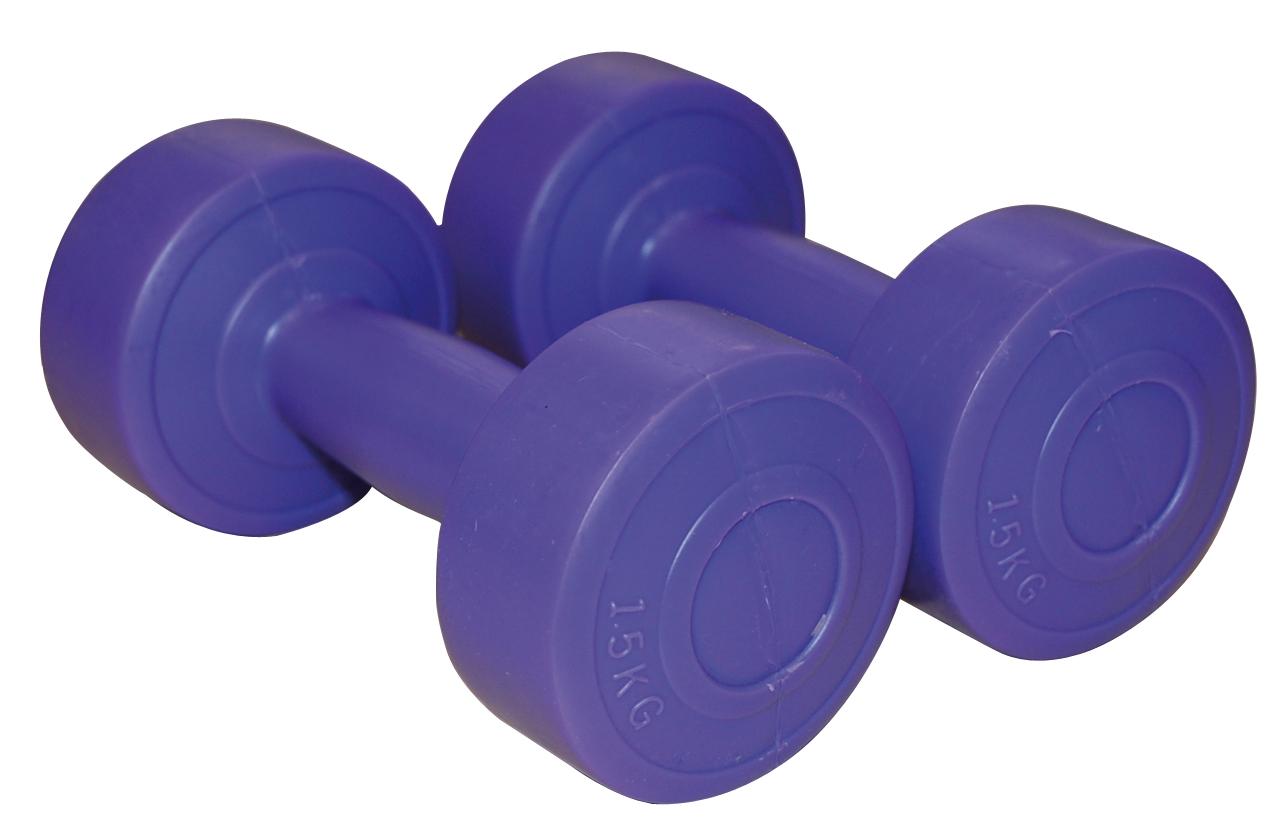 Set gantere aerobic, 2x1.5 kg, Sveltus