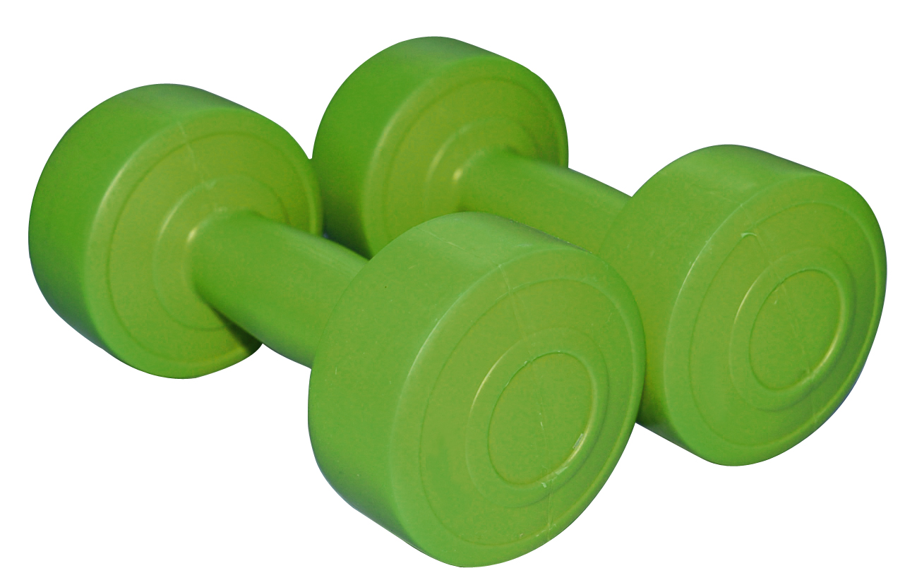 Set gantere aerobic, 2x1kg, Sveltus