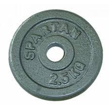 Set greutati bara, 2x2kg, diametru 30mm
