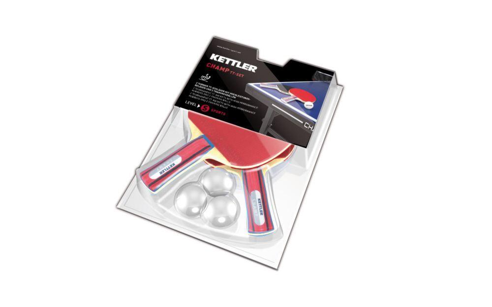 Set palete tenis de masa Champ, Kettler