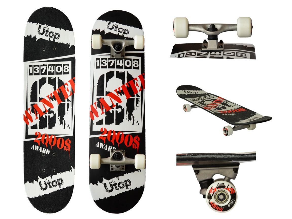 Skateboard pentru incepatori si intermediari. Artist