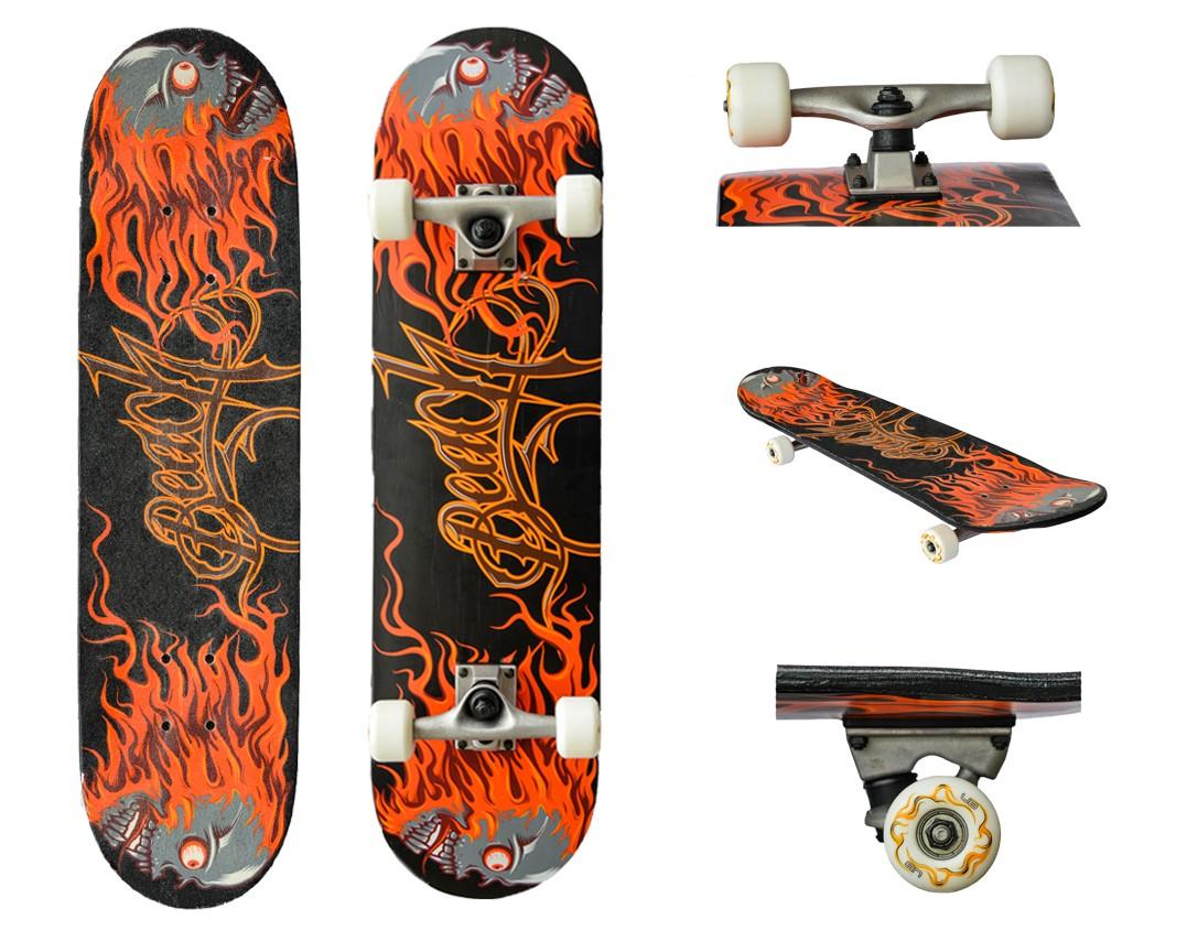 Skateboard pentru incepatori si intermediari. Hellfull