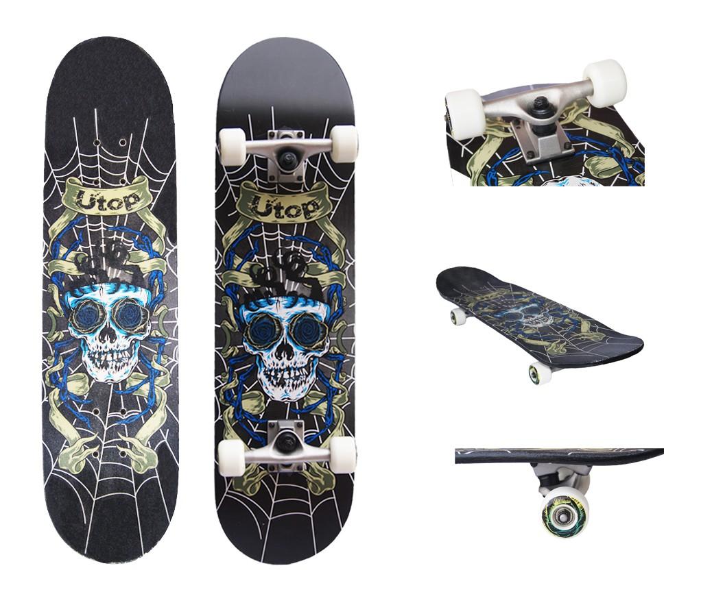 Skateboard pentru incepatori si intermediari. Net