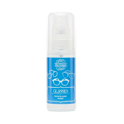 Solutie BIO pentru curatare ochelari, dubla actiune, 50ml, BioGreen