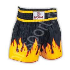 Sort pentru box polyester WOMA Flame