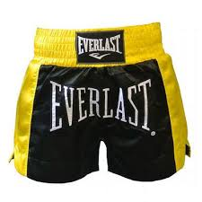 Sort thai box, negru-galben, Everlast