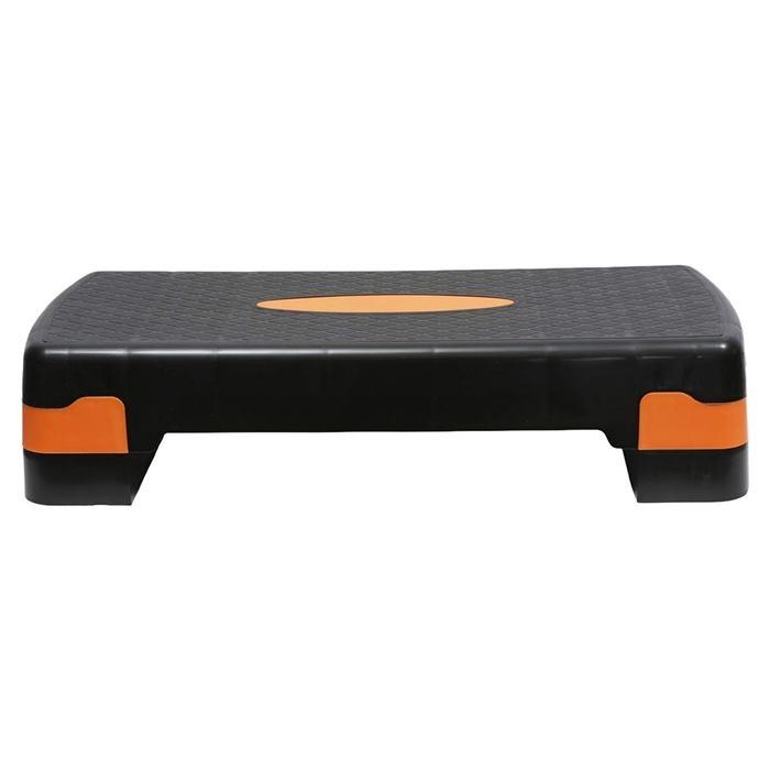 Stepper fitness reglabil, 2 nivele, negru