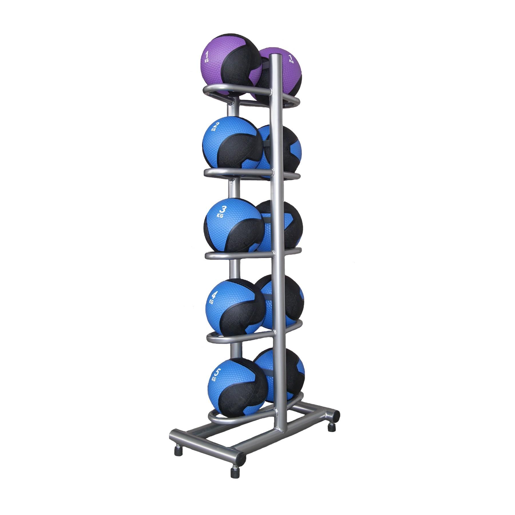 Suport vertical pentru mingi medicinale