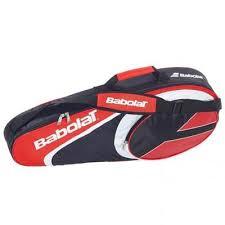 Termobag 3 rachete tenis de camp, X3 Club, rosu, Babolat